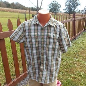 The North Face Mens Button Front Shirt Size XL